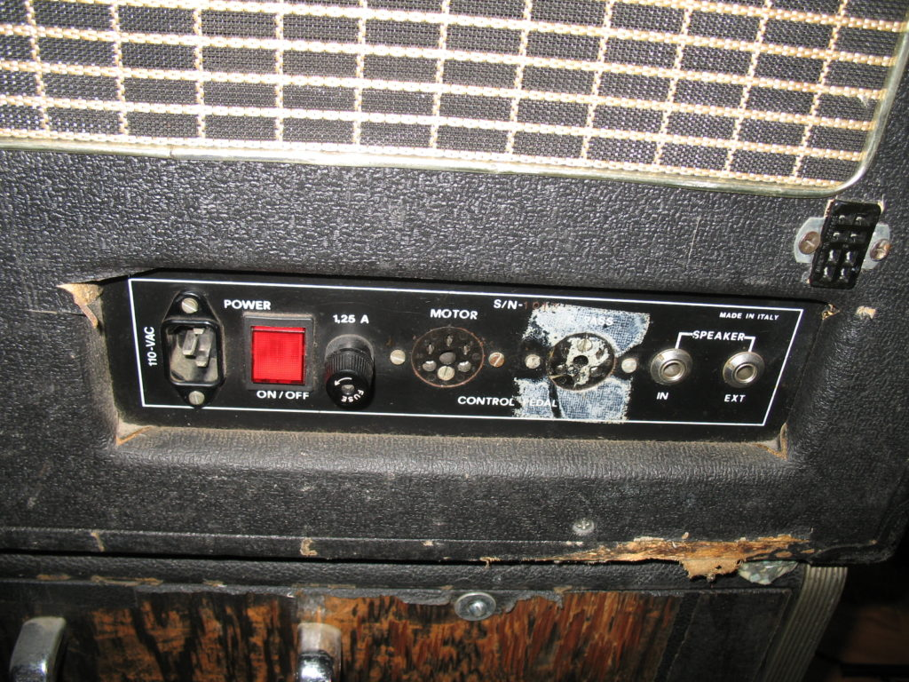 MTI Rotophaser Panel