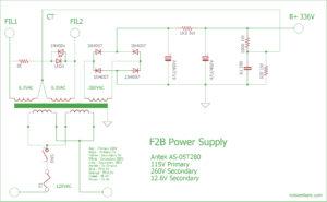 Toroidal Power Supply F2B