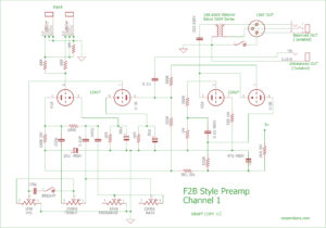 F2B Preamp Section Ch.1